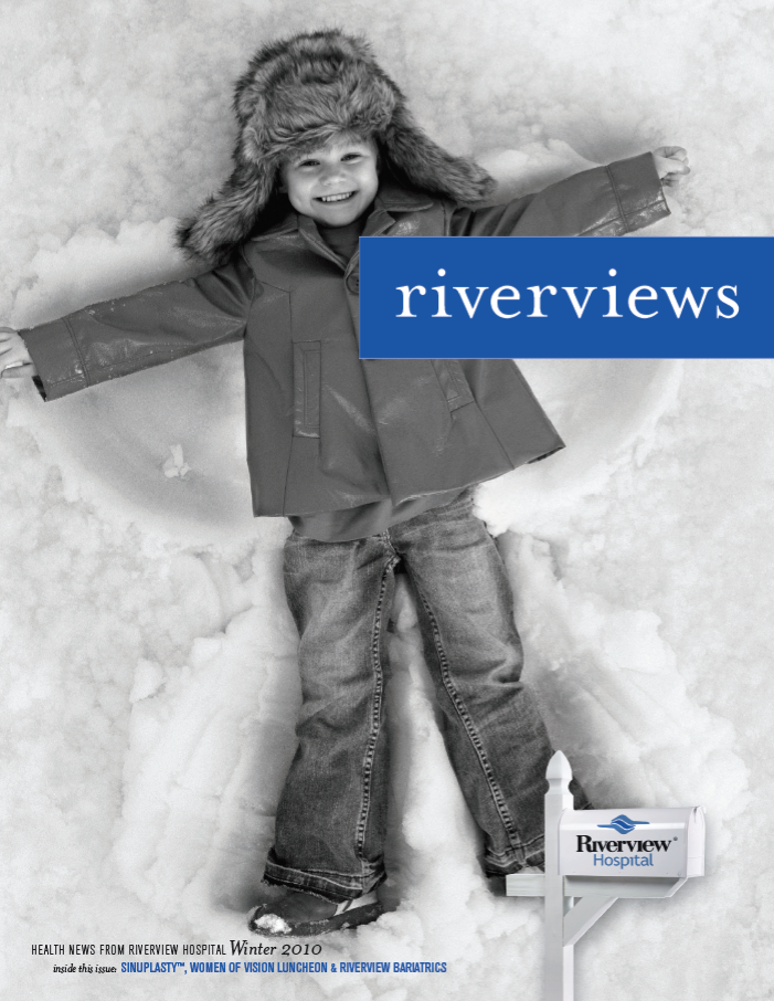 Riverview mag cover