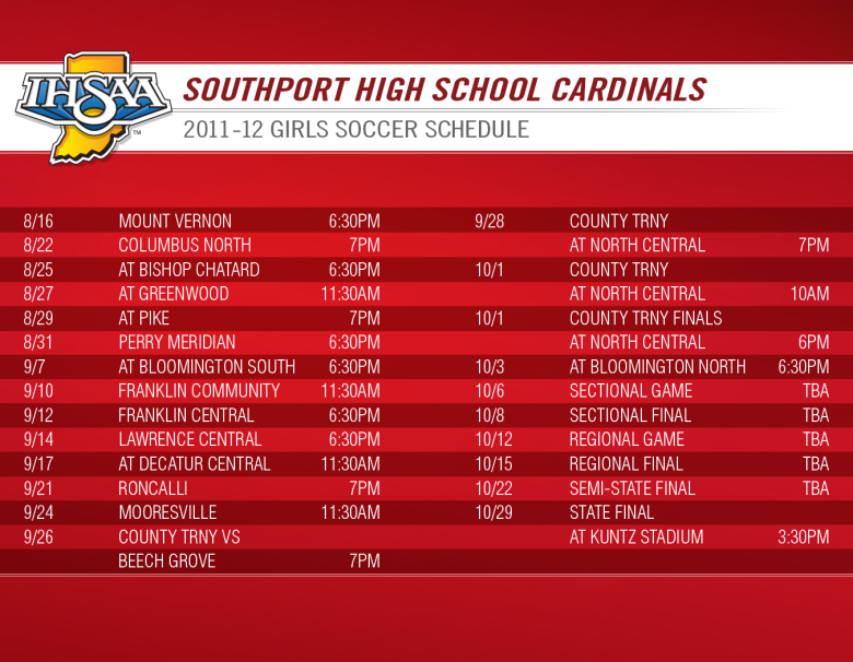 southport schedule-inside